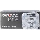 Rayovac 364/SR 621 SW/G1