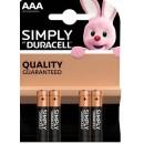 DURACELL AAA SIMPLY AAA B4