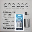 8x BASIC punjač sa 4 AAA eneloop baterije