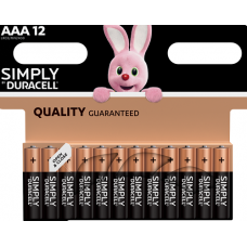 DURACELL AAA SIMPLY B12