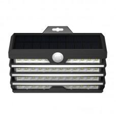 LED Solar Energy Wide Angle Wall Lamp - senzor pokreta