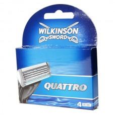 WILKINSON SWORD QUATTRO PLUS RAZOR BLADES