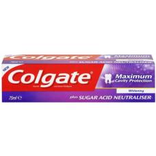 COLGATE MAXI WHITE SUGAR NEUTRALISER TOOTHPASTE - 75ML