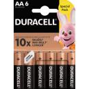 6x DURACELL AA BASIC AA B6