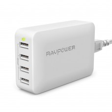 RAVPower 40W 8A 4-Port USB Charging Station