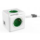 PowerCube Extended USB; ZELENI