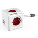 PowerCube Extended USB; CRVENI