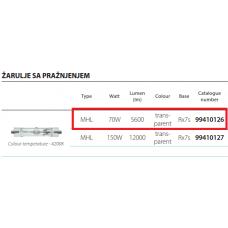 ELMARK MHL 70W 5800LM R7S METAL HALIDE LAMP 4000K