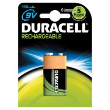Duracell  9V  170mAh  B1