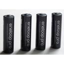 eneloop pro AA 4x + kutijica za baterije