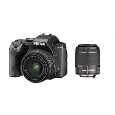 K-S2 Black + 18-50mm WR + 50-200mm WR