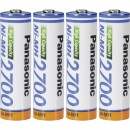 Panasonic punjive bat AA 2700 NiMh 4x + kutija za baterije AA/AAA