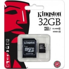 Kingston SDHC micro + adapter 32GB CL10