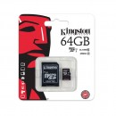 Kingston SDHC micro + adapter 64GB CL10