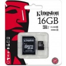 Kingston SDHC micro + adapter 16GB CL10